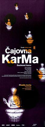 Čajovna Karma - design: Robert V. Novák