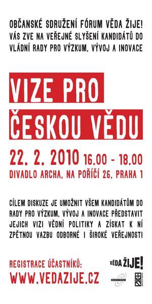 Vize pro českou vědu
