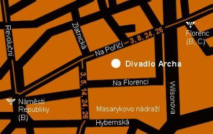 Archa/mapka